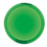 Spiegel rond Ø 68 mm limegroen 890413