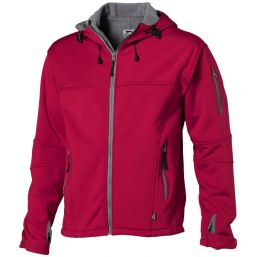 Match heren softshell jack rood 33306