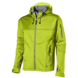 Match softshell jack groen 33306