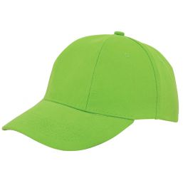 Turned brushed cap lichtgroen 1733