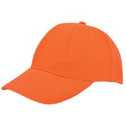 Turned brushed cap oranje 1733