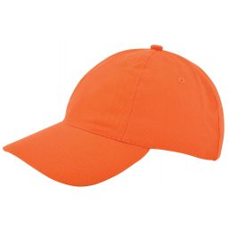 Kinder brushed promo cap oranje 1750