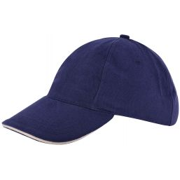 Kinder brushed promo cap navy/naturel 1750